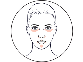 Learn how and where to apply NEW Mary Kay Perfecting Concealer.