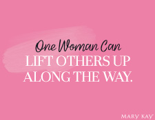 One Woman Can Lift Others Up Along the Way.